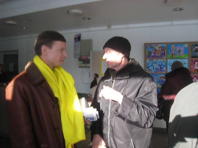 Kohtumine valijatega Kaja kultuurikeskuses Mustamäel